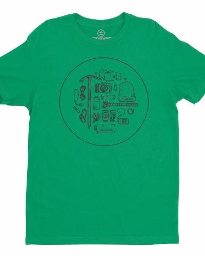 Gear List Tee (Green)