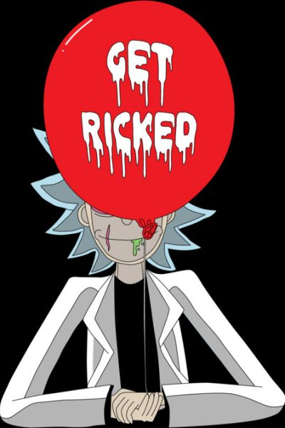 Get Ricked! T Shirt By Rock3tman Design By Humans