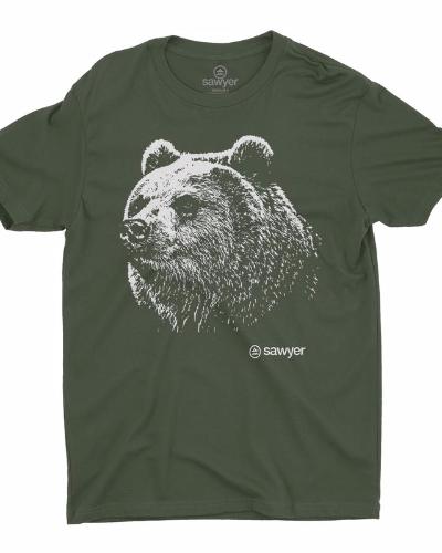 Good Bear Tee (Military Green)