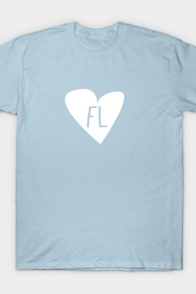 I Love Florida, FL Life Is The Life For Me. T-Shirt