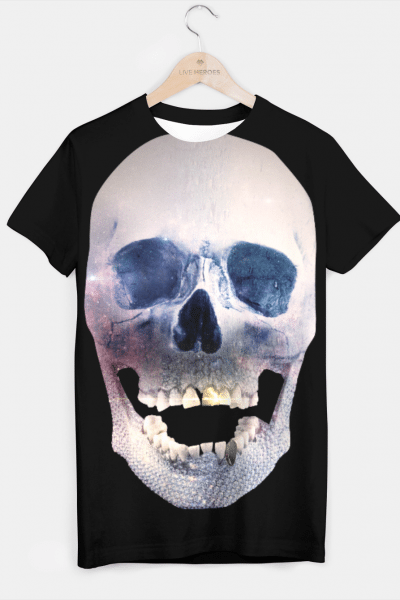 I'm only human – Skull T-shirt, Live Heroes