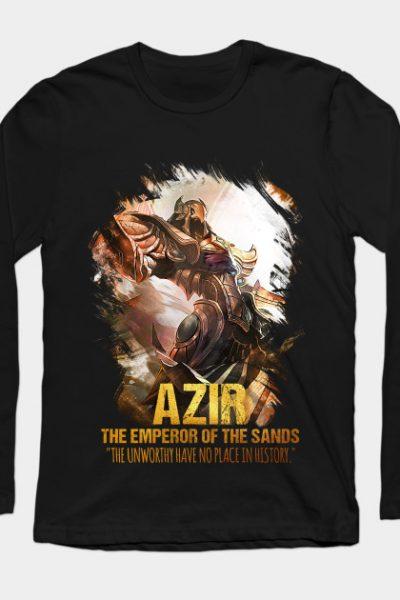 League Of Legends AZIR Long Sleeve T-Shirt