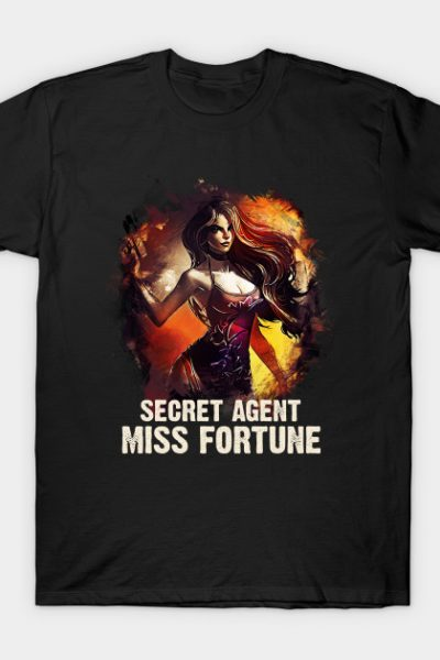 League of Legends – Secret Agent MISS FORTUNE T-Shirt