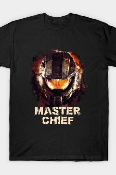 Master Chief – MCPON John-117 – HALO T-Shirt
