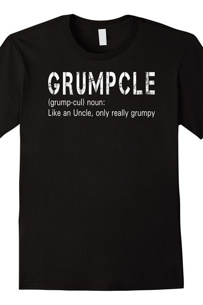Mens Grumpcle Grumpy Uncle Funny Family Definition