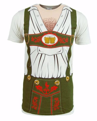 Mens Oktoberfest Costume T Shirt White