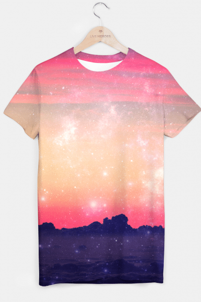 Origins of Space T-shirt, Live Heroes