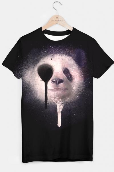 Panda T-shirt, Live Heroes