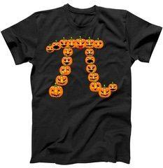 Pumpkin Pi Emoji's Halloween Math 3.14 T-Shirt | TeeShirtPalace