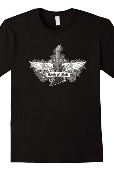 Rock n' Roll Guitar with Wings