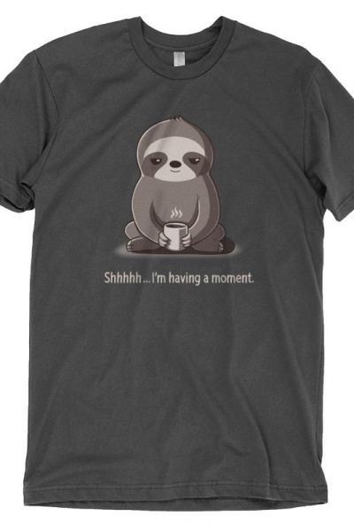 Slow Morning | Funny, cute & nerdy shirts – TeeTurtle