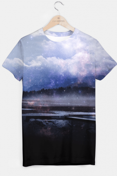 Space Cloud T-shirt, Live Heroes