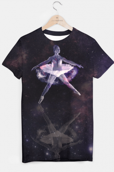 Space Form T-shirt, Live Heroes