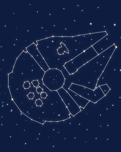 Star Falcon Constellation Shirt