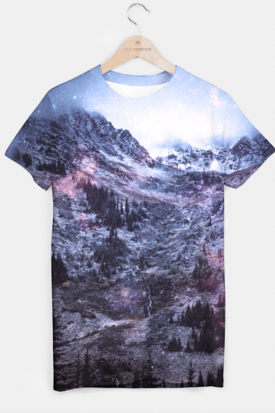 Stars in the Mountains T-shirt, Live Heroes