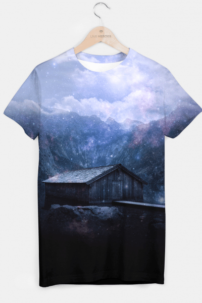 The cabin in the mist T-shirt, Live Heroes