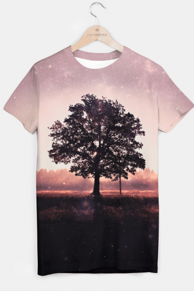 The Lonely Tree T-shirt, Live Heroes