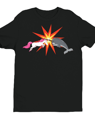 Unicorn Vs. Narwhal Shirt