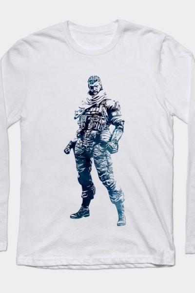 Venom Snake – Big Boss [METAL GEAR SOLID] Long Sleeve T-Shirt