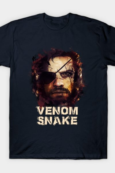 Venom Snake – Big Boss [METAL GEAR SOLID] T-Shirt