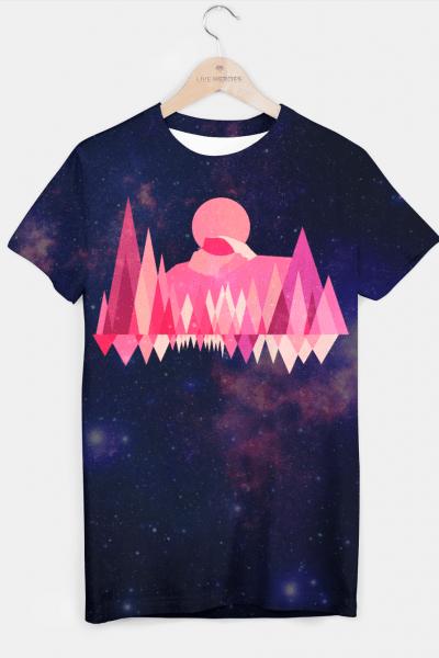 Yosemite Sun T-shirt, Live Heroes