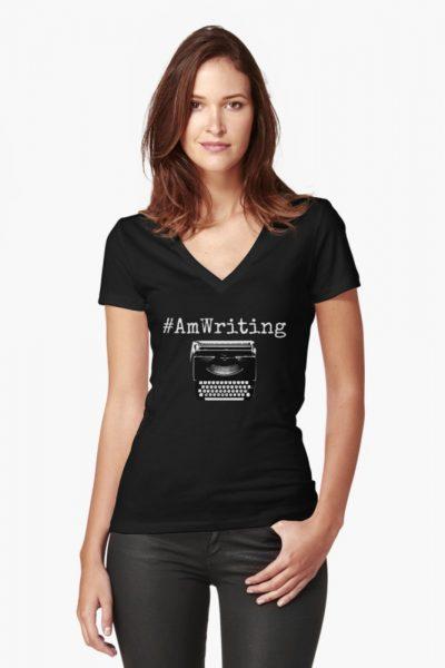 #AmWriting Typewriter Author and Writer
