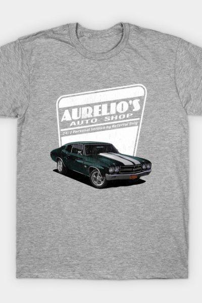 Aurelio's Auto Shop – John Wick T-Shirt