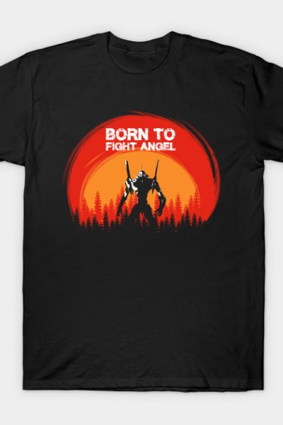Born To Fight Angel T-Shirt