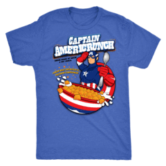 Captain Americrunch Shirt – Curious Rebel
