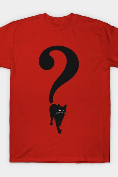 Cat in The Question T-Shirt