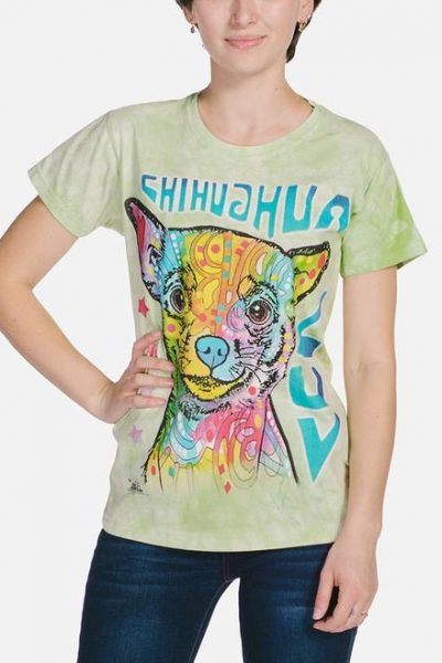 Chihuahua Luv Womens T-Shirt