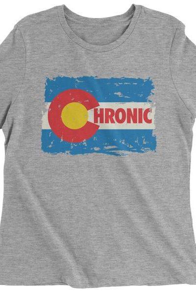 Chronic Colorado Womens T-shirt