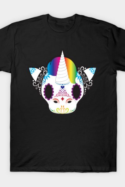 Day of the Dead Unicorn T-Shirt