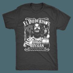 El Duderino White Russian Shirt – Curious Rebel