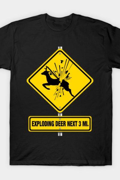 Exploding Deer – Ash vs Evil Dead T-Shirt