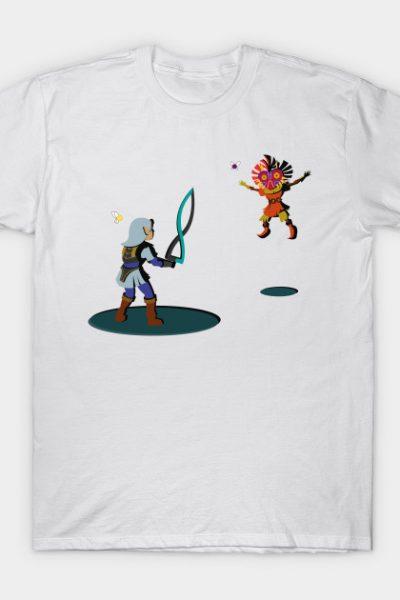 Fierce Deity VS Skull Kid T-Shirt