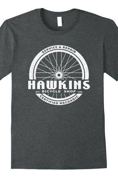 Hawkins Bicycle Shop – Stranger Things