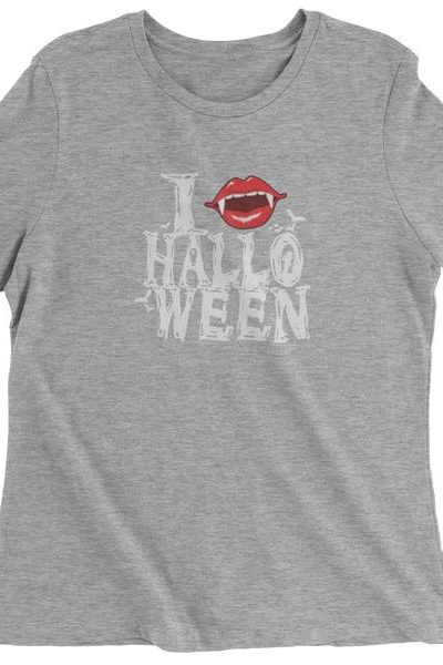 I Fang Halloween Womens T-shirt