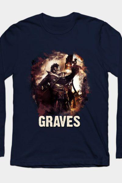 League of Legends GRAVES Long Sleeve T-Shirt