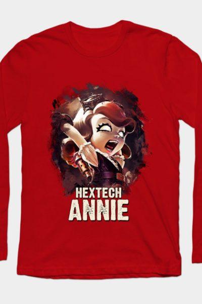League of Legends HEXTECH ANNIE Long Sleeve T-Shirt