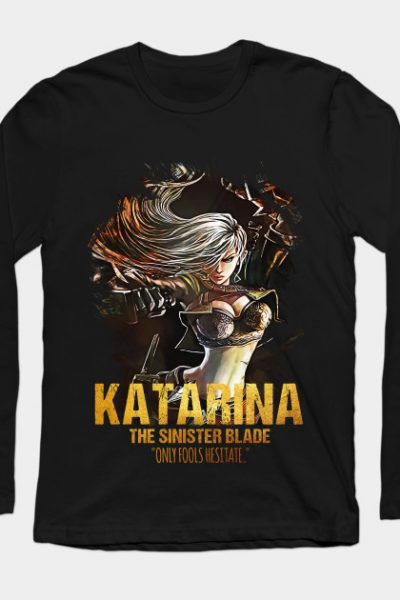 League of Legends KATARINA – The Sinister Blade Long Sleeve T-Shirt