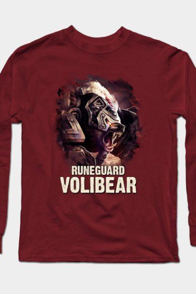 League of Legends RUNEGUARD VOLIBEAR Long Sleeve T-Shirt