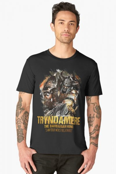 League of Legends TRYNDAMERE – The Barbarian King