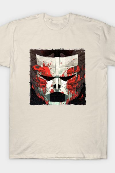 Luther's Mask | Strange Talent of Luther Strode | Square Clear Border T-Shirt