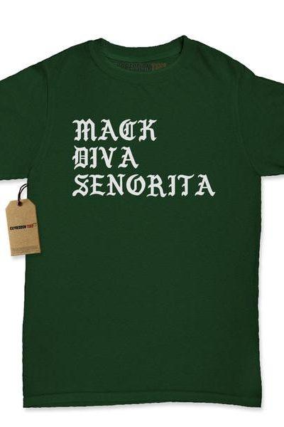 Mack Diva Senorita Womens T-shirt