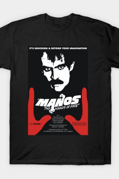 Manos Movie Poster T-Shirt