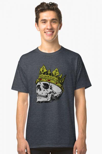 Medieval Crown Skull Art