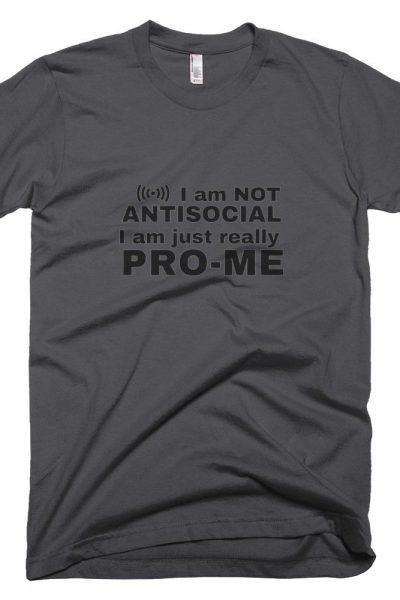 Mens Antisocial T-Shirt