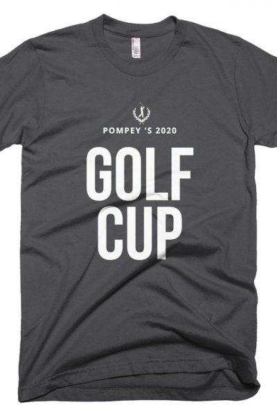 Mens Golf Cup Short-Sleeve T-Shirt