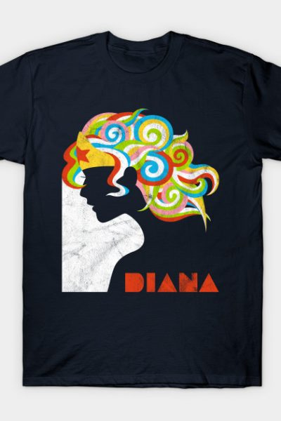 My friends call me Diana (Distressed Version) T-Shirt
